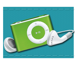 Picture of an iPod Shuffle