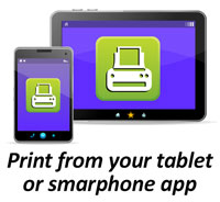 Print from Your Tablet or Smartphone to Library Printers with MobilePrint Service