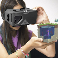 Virtual Reality Headset and Cube