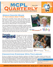 Fall 2021 MCPL Quarterly Cover